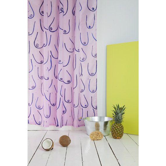 Unique Shower Curtain Cool Shower Curtain Light Pink Shower