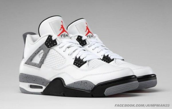 Release Reminder Air Jordan Iv 4 White Cement Sneakers Men Fashion Air Jordans Jordan 4 White Cement