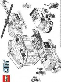 LEGO City kleurplaten | Lego coloring pages, Lego coloring ...