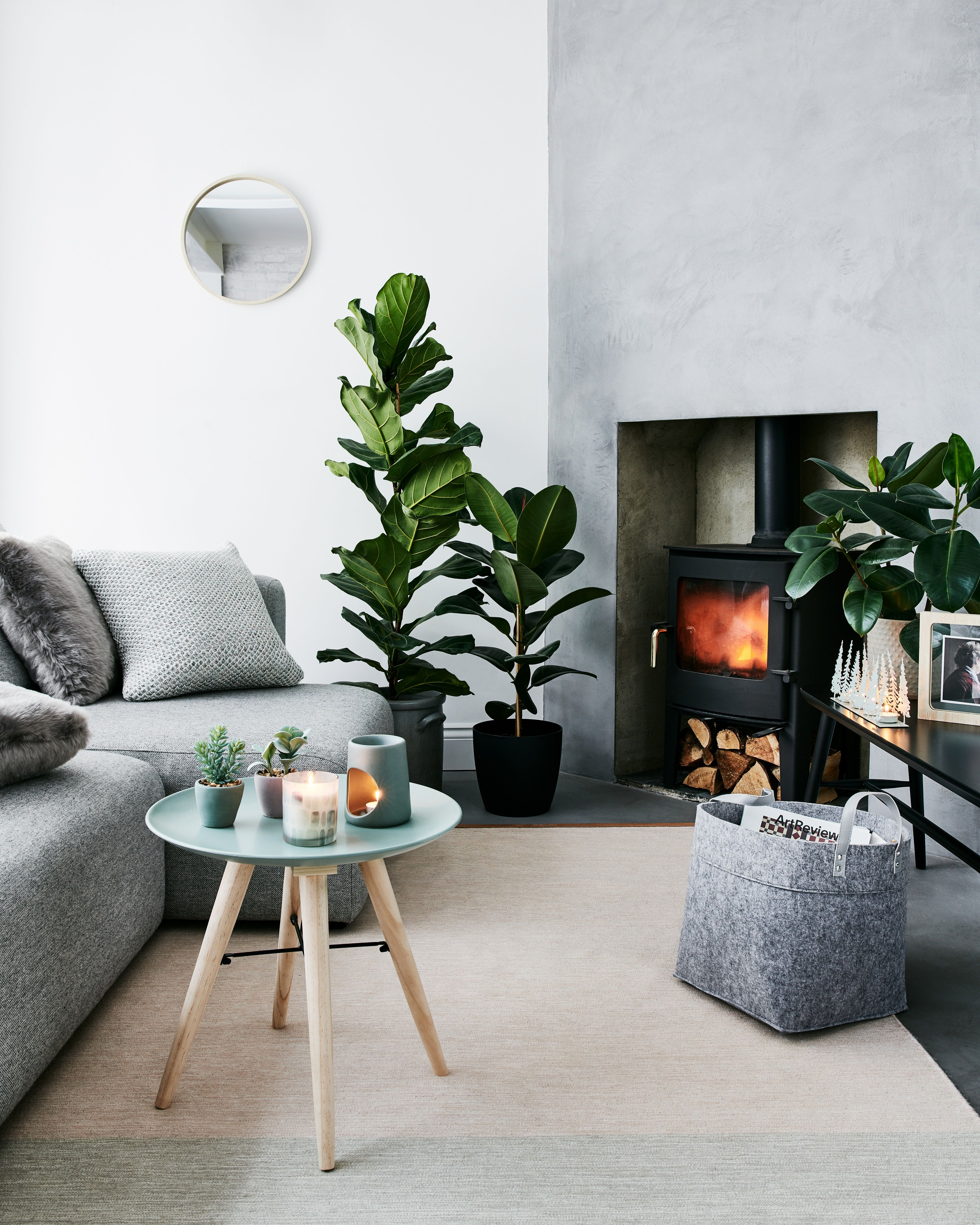 Rural Retreats Sainsburys Home Trends Faux Plants Soft Furnishings Artificial