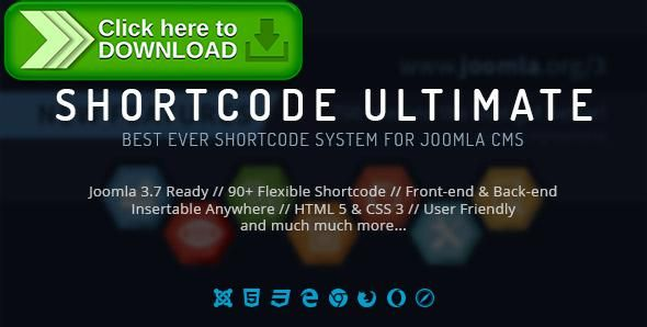 Using shortcode ultimate with joomla joomlead.