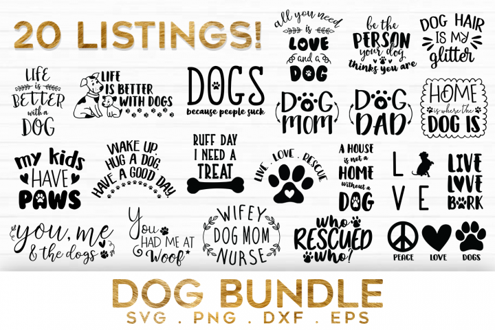 Download 20 Dog Quotes Bundle Svg Dog Quotes Svg Dog Svg Files Wipsart Crafters Svgs Svg Quotes Dog Quotes Quotes