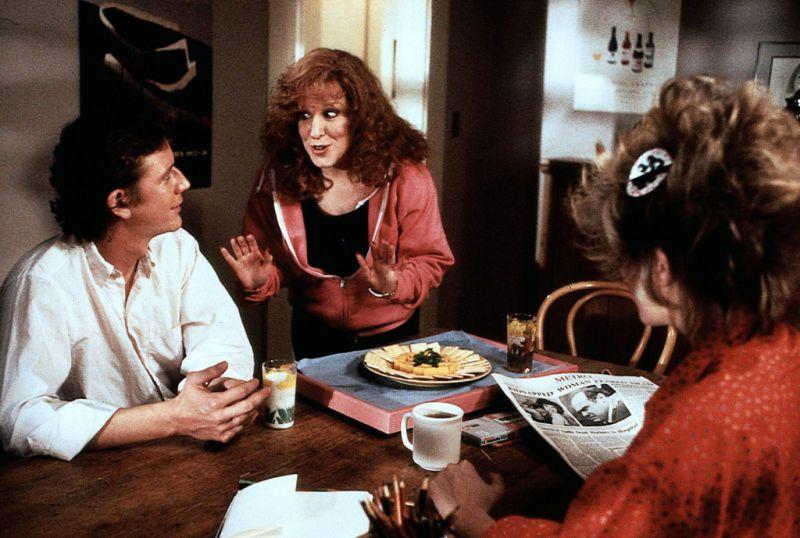 Ken Kessler (Judge Reinhold), Barbara Stone (Bette Midler) and Sandy Kessler (Helen Slater) ~ Ruthless People (1986) ~ Movie Stills ~ #comedies #80smovies #80scomedies #moviestills