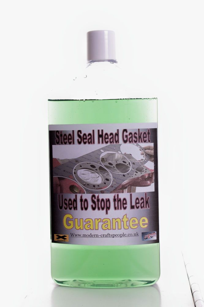 Permanently Seals:Cracked Cylinder Heads,Blown Head Gaskets, All Block Leaks.