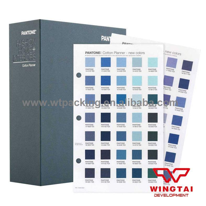 2017 Newest Pantone Fashion Home Tcx Color Chart Fhic300 Pantone Tcx