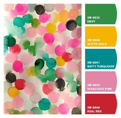 Fun Multicolor Surprise Happy Bright Cheerful Playroom