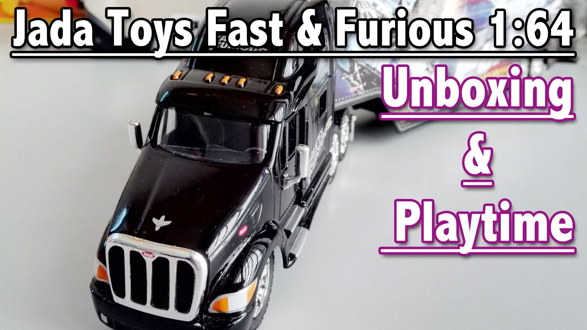 Jada Toys Fast & Furious 1:64: Toy Car Unboxing and Playtime | Toys For ...