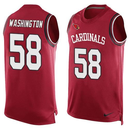 Cheap Nike Cardinals #58 Daryl Washington Red Team Color Men's Stitched  hot sale
