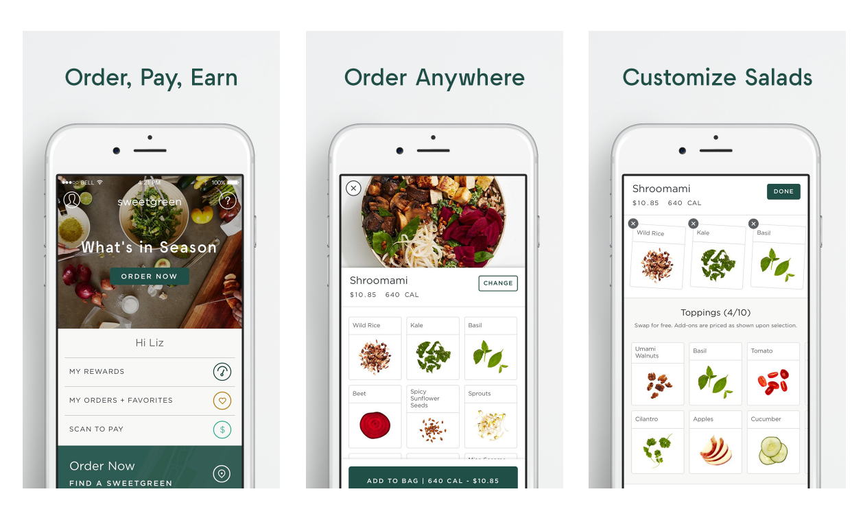 Sweetgreen's iPhone App Logs Meal Calories to Apple Health