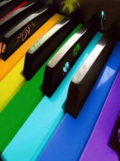 Download Colorful Piano Mobile Wallpaper Is Compatible For Nokia Samsung Htc Imate
