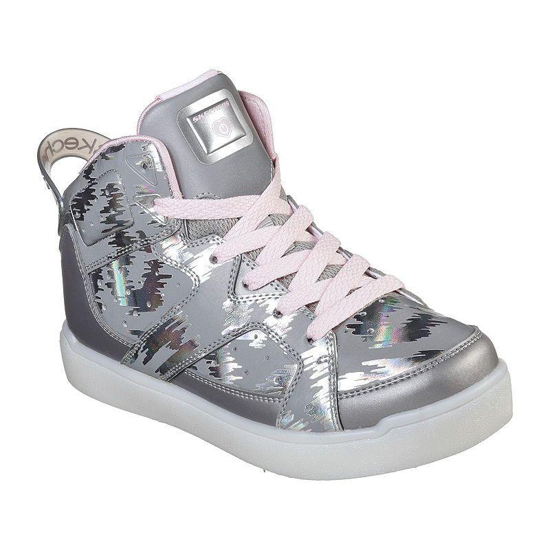 f2743188a374 Skechers Energy Lights Girls Walking Shoes Lace-up - Little Kids Big Kids
