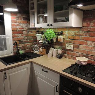 Kuchnia Czarny Zlew I Czarna Bateria Kitchen Remodel Small Home Decor Kitchen Kitchen Design Small