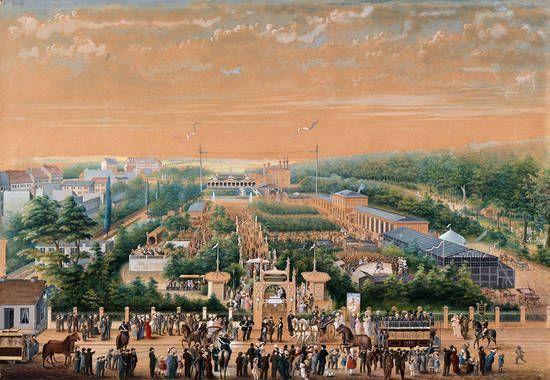 Berlin Die Neue Welt In Der Hasenheide Grafik 1881 Neue Welt Historische Fotos Bilder