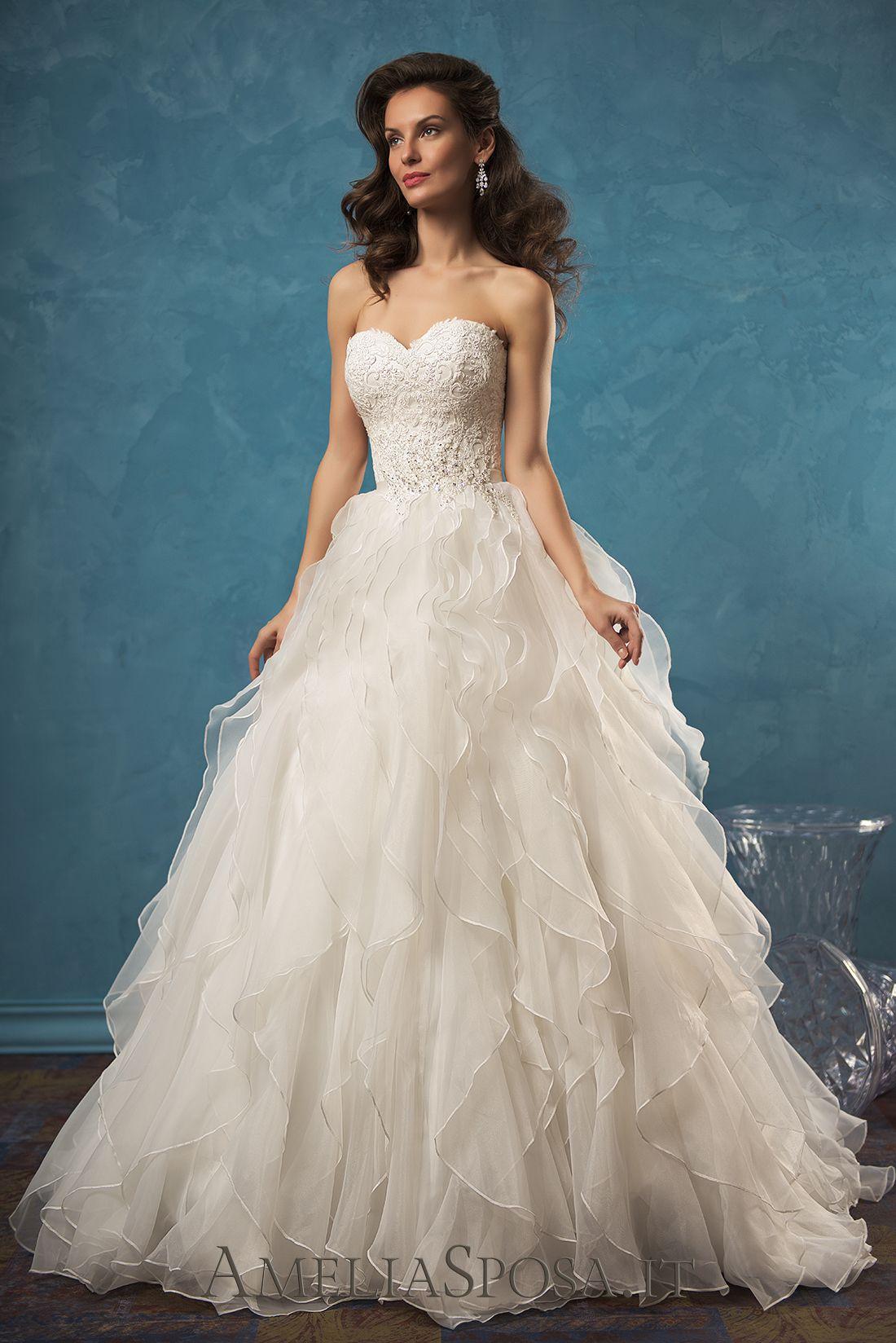 Wedding Dress Palmira, Silhouette: A-line, Ball Gown | Wedding ...