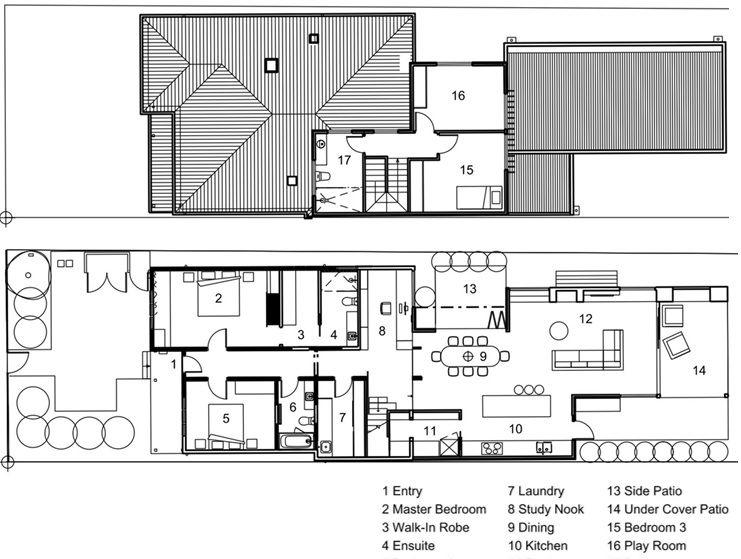 Sandringham House Small Techne Architecture Interior Design Doherty Studio Australia Floor Plans Humble Homes