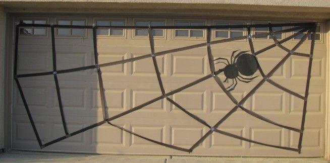 Simple Halloween Garage Door Decorations Ideas Best Home Decor - halloween garage ideas
