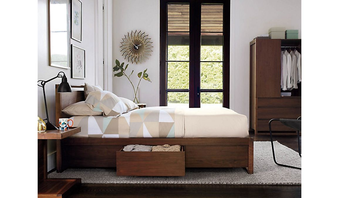 3711e2e7184 Buy Matera Bed with Storage by Design Within Reach - Made-to-Order designer  Furniture from Dering Hall s collection of Industrial Mid-Century   Modern  Beds