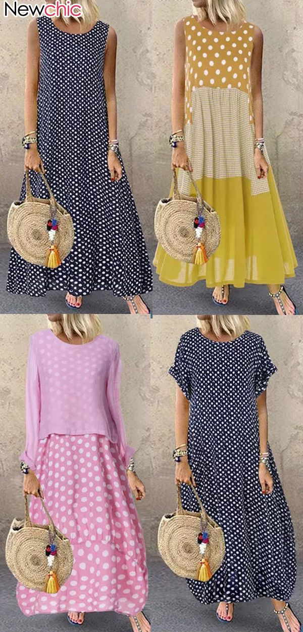 Photo of Women #Casual #PlusSize Floral Dress, Best #Outfits for #Vacation!  Up to 70% OFF