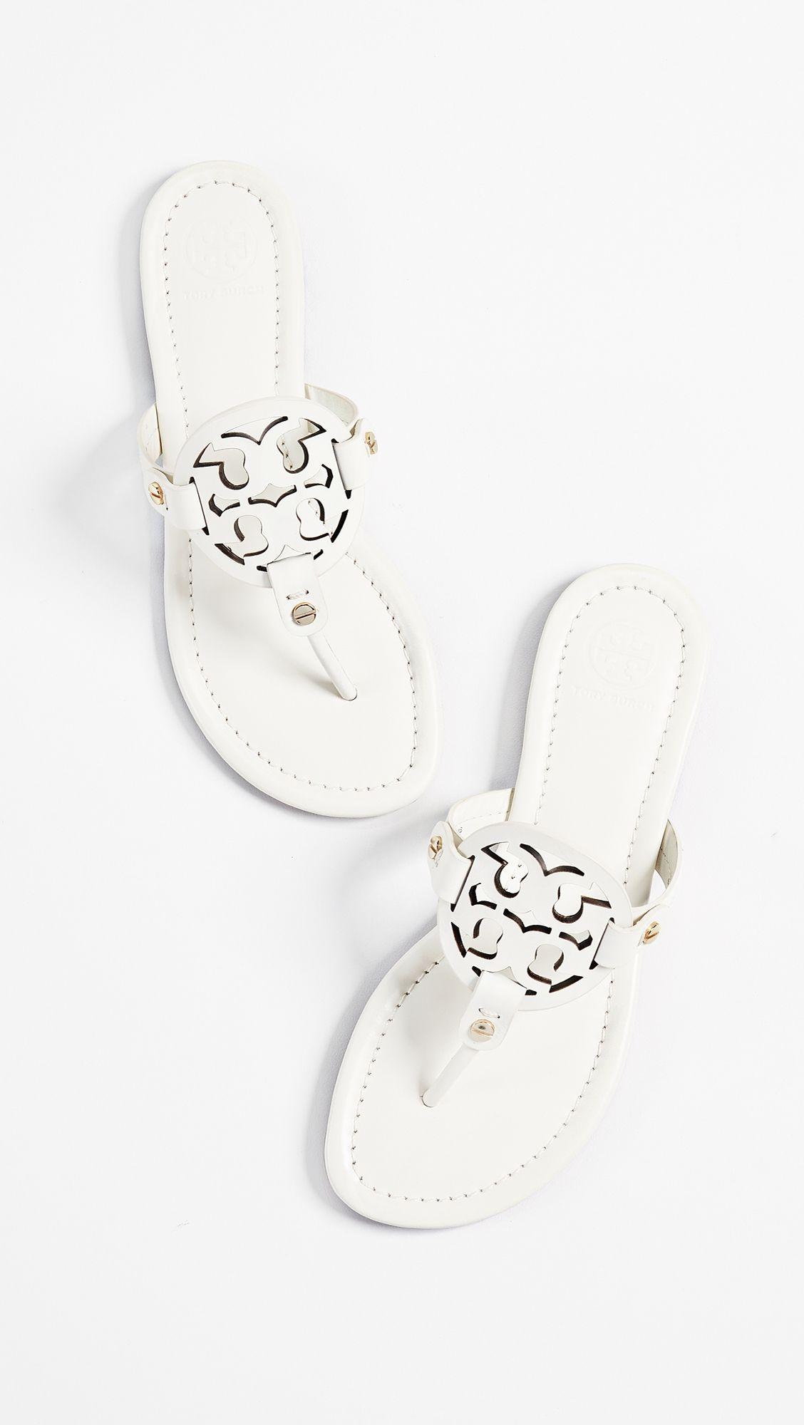 806d389f3b2880 Tory Burch Miller Thong Sandals