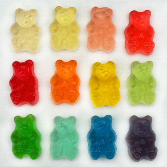 Gummy Bears Were Invented In Germany Jelly Vs Chocolate Gummy