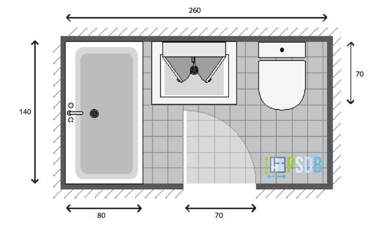 Exemple De Plan De Salle De Bain De 3 5m2 Plan Salle De Bain Petite Salle De Bain Salle De Bain 3d