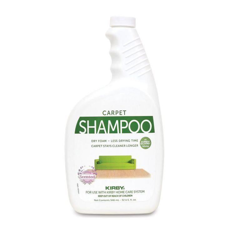 Kirby carpet shampoo