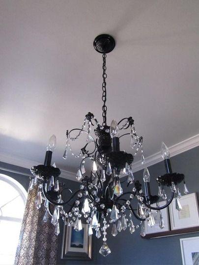 chandelier make over idea