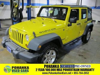 2008 Jeep Wrangler Unlimited Rubicon Yellow Http Www Iseecars