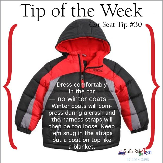 Tip of the Week: Dress comfortably, no winter coats inside the ...