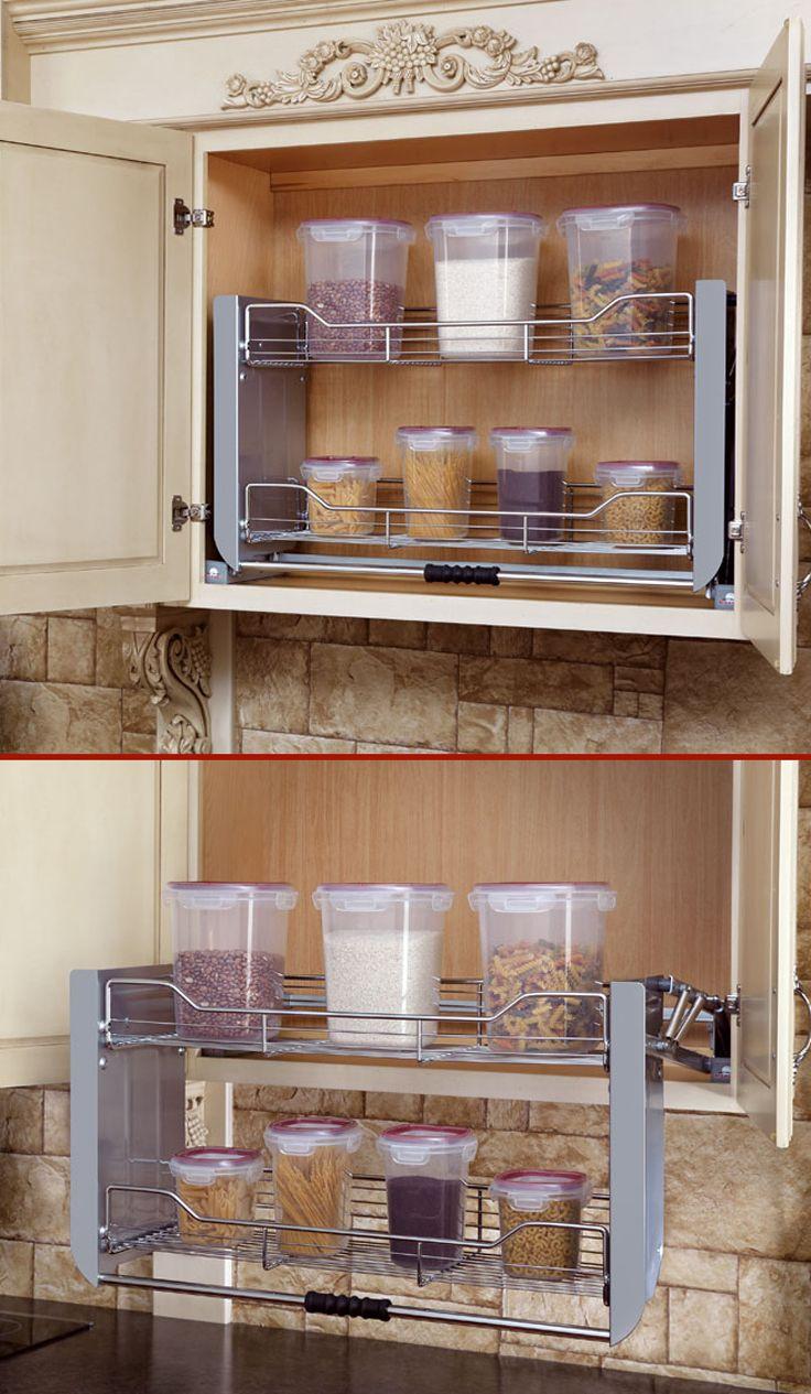 Rev A Shelf 5pd 36crn Premiere 34 1 4 870mm Wide Pull Down Shelving System Chrome The Hardware Hut Kitchen Furnishings Modern Kitchen Design Kitchen Room Design