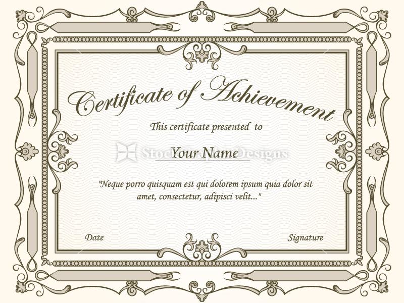 certificateborderstemplatesvectorphotoshopbrushes