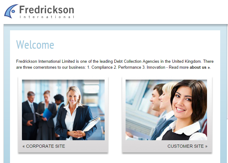 Fredrickson Debt Collection >> Fredrickson International is a leading Debt Collection Agency Set up in 1992, operating in the ...