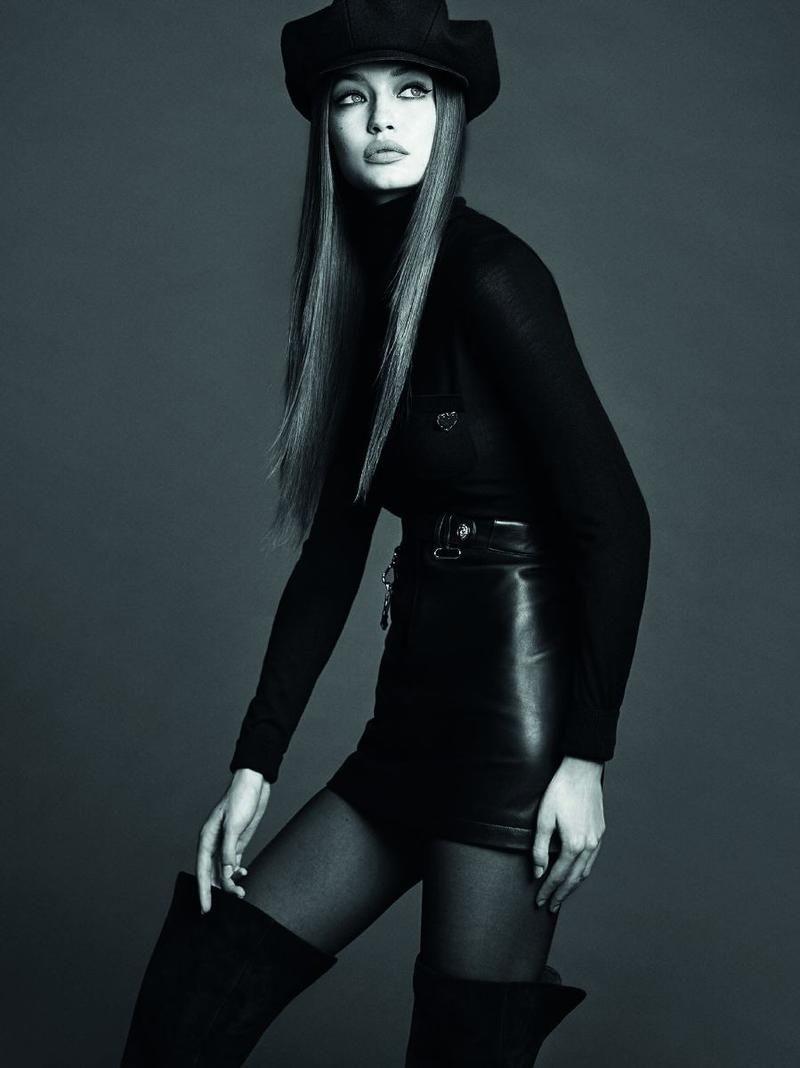 Gigi Hadid Finds Her Groove In Luigi & Iango Images For Vogue Japan November 2017 — Anne of Carversville