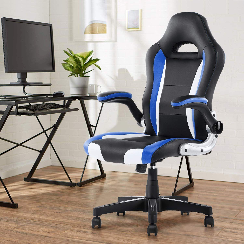YAMASORO Office Chair PU Leather Executive Chair, High