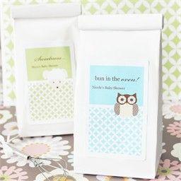owl baby shower muffin idea