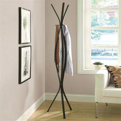 Monarch Specialties I 40 Contemporary Coat Rack Living Rooms Interesting Contemporary Coat Rack Stand