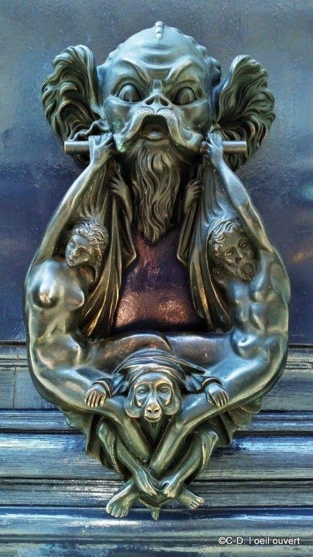 Les poignées de porte les plus originales de Paris Antique door
