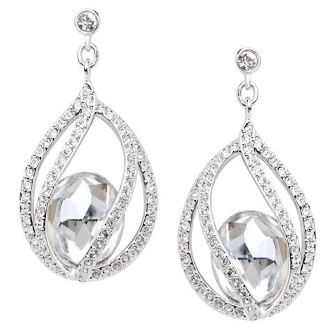 Swarovski Megan Pierced Earrings 225