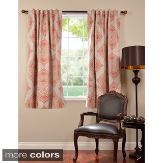 EFF Henna Blackout 63 Inch Curtain Panel | Overstock.com Shopping   The Best