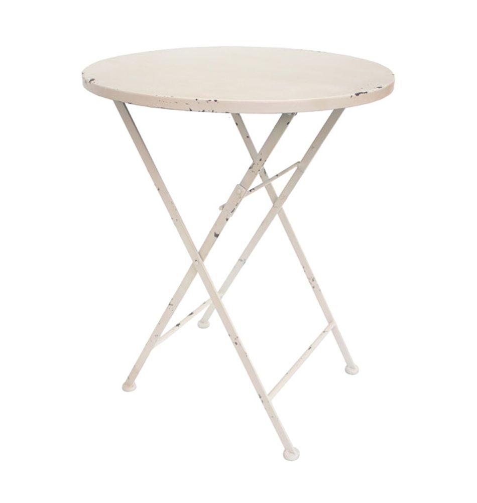 Eisentisch Gentile Weiss Eisentisch Gartenmobel Sets Und Tisch