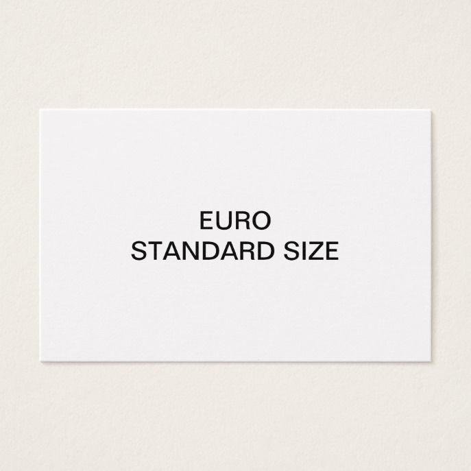 Euro standard size business card customs office euro and business euro standard size business card customs office euro and business cards colourmoves Choice Image