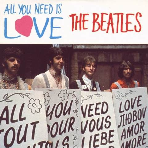 The Top 20 Beatles Songs 11 All You Need Is Love Beatles