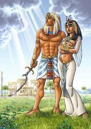 Osiris And Isis And Horus