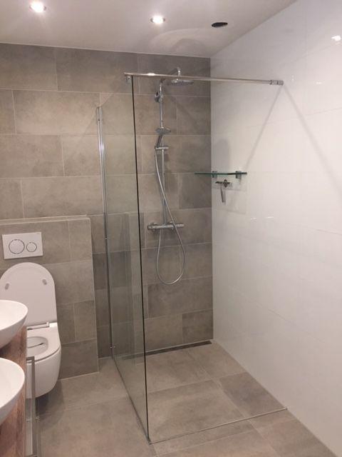 Badkamers 2018 inloopdouche - Landelijke badkamers | Pinterest ...