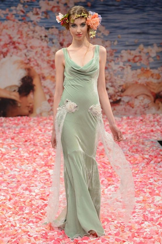 Claire Pettibone\'s Fall 2013 Collection from New York Bridal Fashion ...