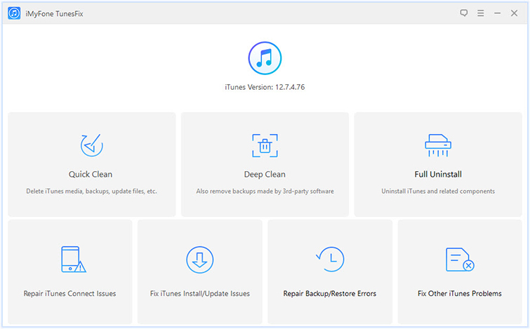 How to Effectively Fix iTunes Errors via iMyFone TunesFix