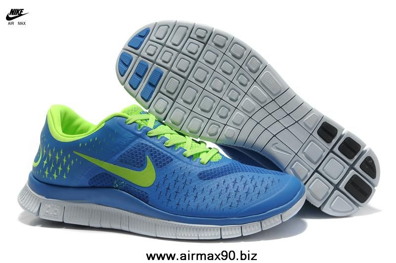 cheap for discount finest selection best authentic Nike Free 4.0 V2 Royal Blue Volt 511472-005 Mens | Nike free shoes ...