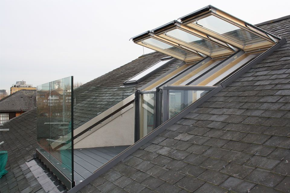County lofts loft conversion gallery roosevelt pinterest lofts galleries and attic - Houses with attic and balconies ...