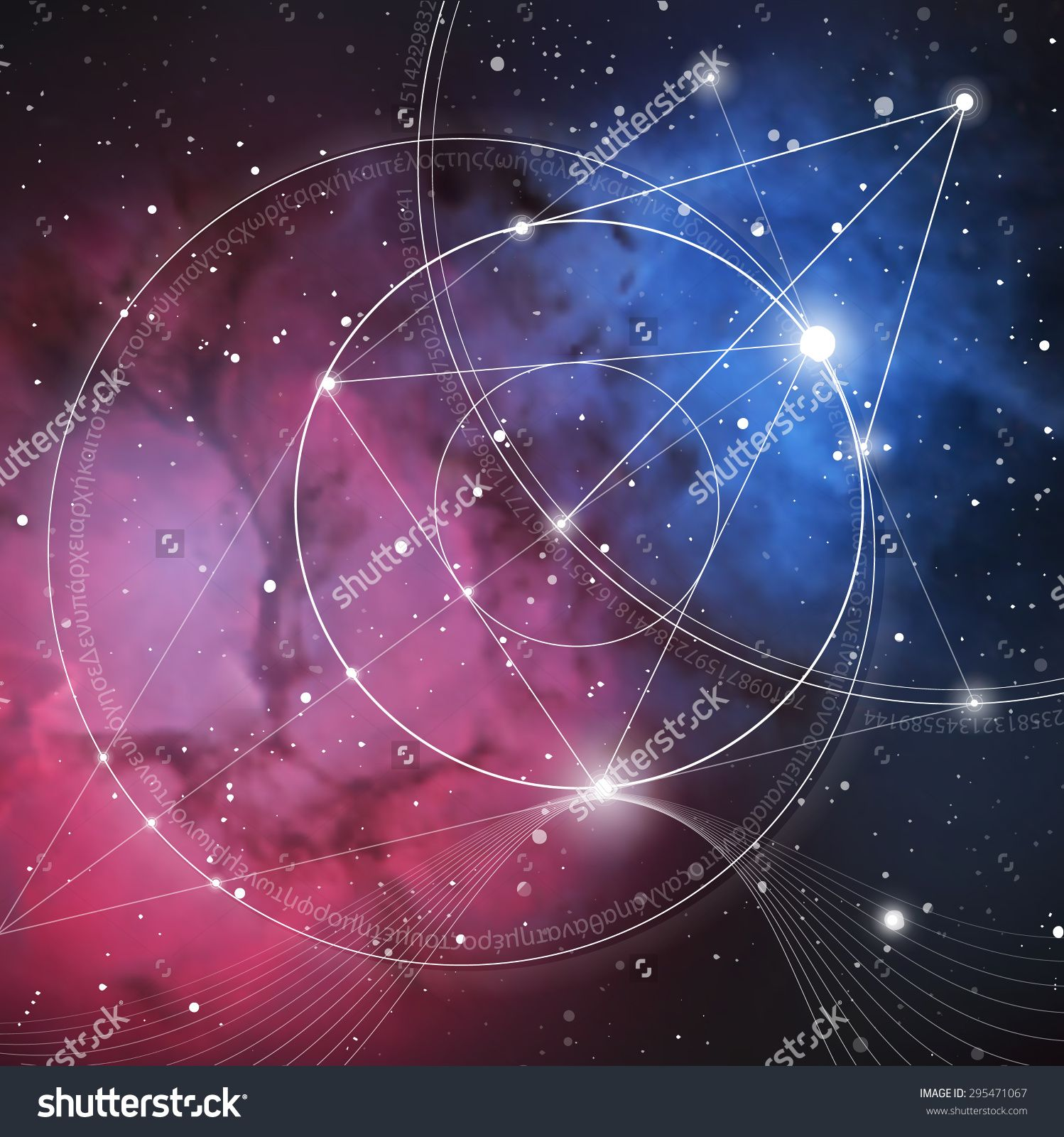 Mathematical symbols and digits in space the formula of nature mathematical symbols and digits in space the formula of nature biocorpaavc Gallery