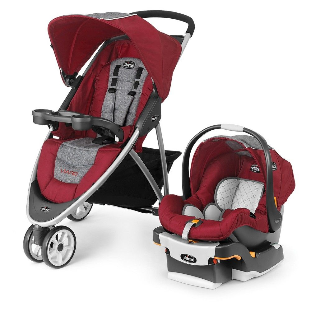 Chicco Viaro Travel System Cranberry, Coastal Travel